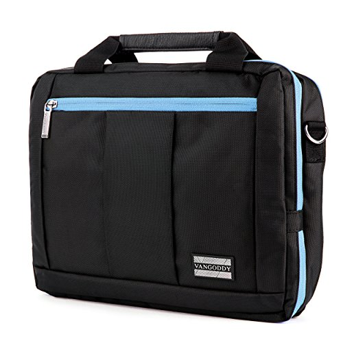 Executive Travel Carrying Bag, Messenger Bag & Backpack For Dell XPS 12 Convertible Ultrabook & Dell Latitude 12.5 inch Laptops