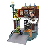 : TMNT Mini Mutants Play Set - Don's Secret Surveillance Lab