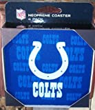 NFL Indianapolis Colts Neoprene Coaster, 4-Pack