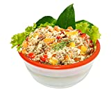 Collapsible Bowl - Food Storage Containers Airtight - Leak Proof Lunch Container - Perfect Salad Bowl
