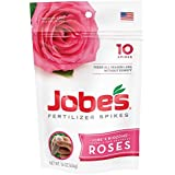 Jobe's 04102 Rose Fertilizer Spikes, 10, Multicolor