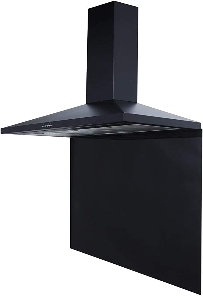 SIA - Campana extractora CH101BL de 100 cm y color negro: Amazon.es: Grandes electrodomésticos