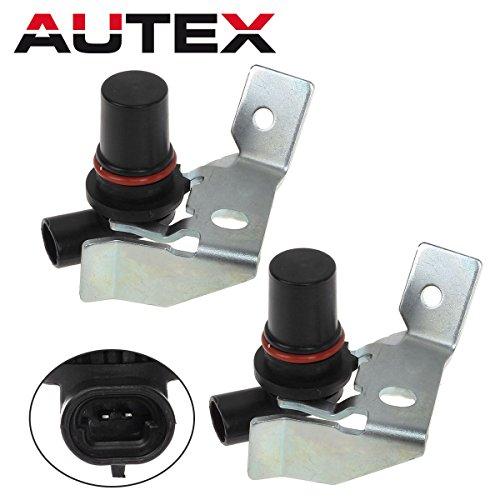- AUTEX 2PCS 4L80E 4L85E Transmission Input & Output Speed Sensor Kit Compatible With GM Chevrolet GMC 1991 UP 24203876