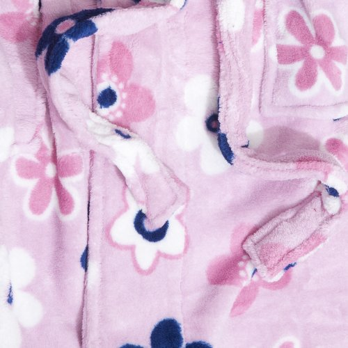 Accessoryo flores disponible rosa una en dise o impresas de con para mujer selecci polar Vestido zzSURqwr