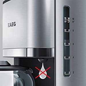 aeg kaffeemaschine premiumline kf 7500 optisch tolle. Black Bedroom Furniture Sets. Home Design Ideas