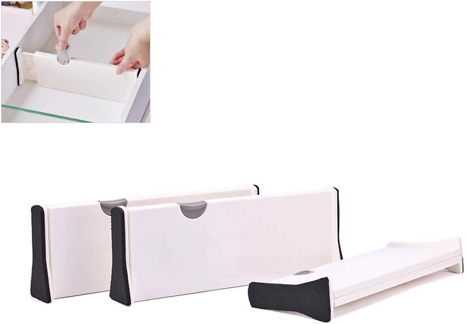 einziehbare Schublade Schubladen-Teiler Schicht-Trennwand Schlafzimmer-Schrank Kikier Kunststoff-Schiene