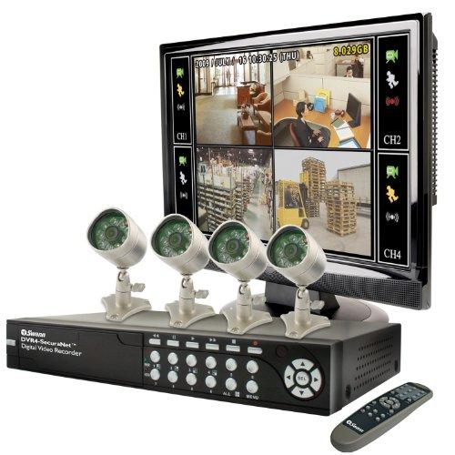 Swann SECURANET-4 Bulldog LCD Combo