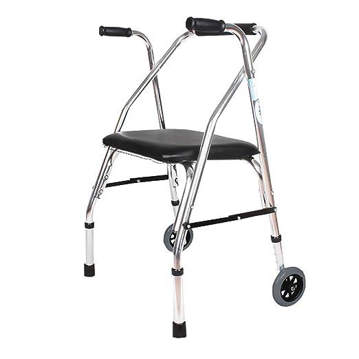 CYYC Andador discapacitado, apoyabrazos Mayor de Cuatro Patas ...