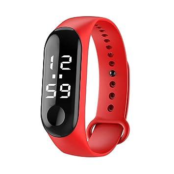 Correr Caminar Reloj 💝💞 Yesmile Contador de calorías de podómetro de Pulsera Relojes Digitales de Distancia a pie LED: Amazon.es: Hogar