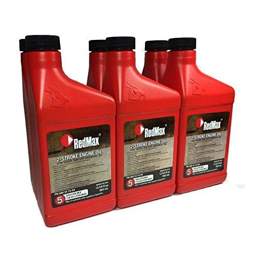 Redmax 580357204 Pack of 6 MaxLife 2-Cycle Oil - 13oz