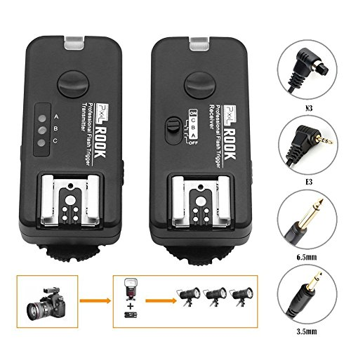 PIXEL ROOK Wireless Flash Speedlite Remote Triggers or Shutter Remote Release Contro for Canon Digital Camera by Pixel