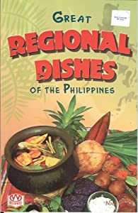 Paperback Great Regional Dishes Of The Philippines Book