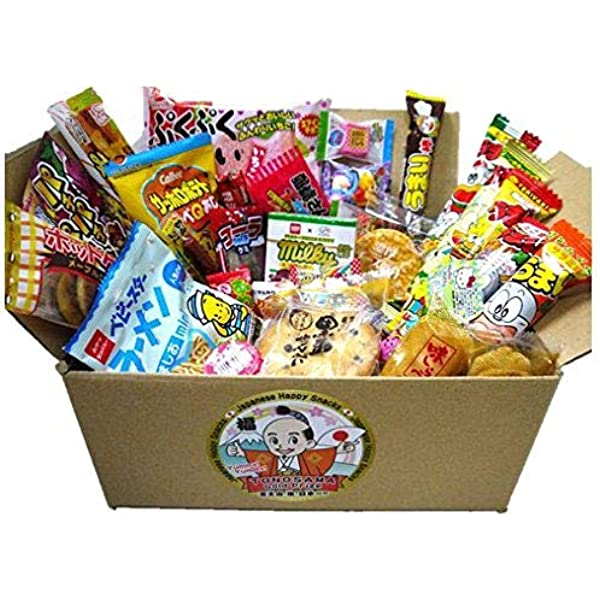 Japanese candy assortment 30pcs , full of dagashi. TONOSAMA CANDY by TONOSAMA CANDY BOX: Amazon.es: Alimentación y bebidas