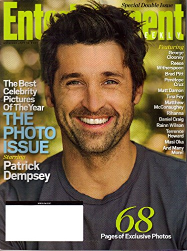 Entertainment Weekly October 19 2007 (The Photo Issue Starring Patrick Dempsey), #959/960