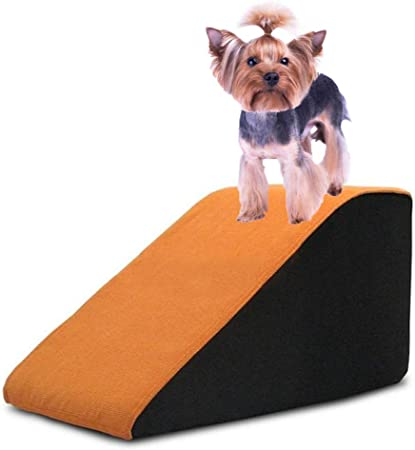 SHIJINHAO Escalera for Mascotas,Árbol De Gato Rampa for Perros Pequeños Ligero Fondo Antideslizante Lavable Escalera Interior Y Exterior Biselado Auxiliar (Color : Orange, Size : 33x70x30cm): Amazon.es: Hogar