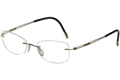 19524a7a52f5 Silhouette Eyeglasses Titan Next Gen Chassis 5227 6051 Optical Frame  17x135mm