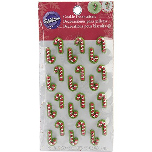 Candycane Cookie Icing Decoration (Decorating Candy Canes)