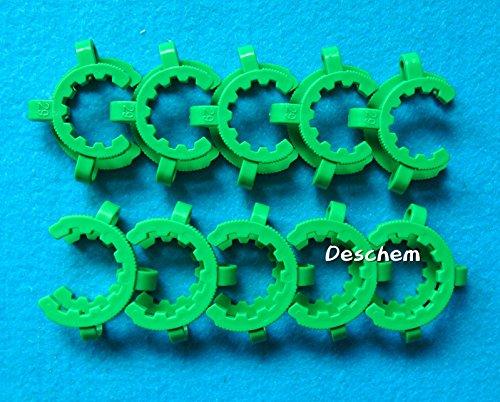 (Deschem 29#,Laboratory Plastic Clamp Clip 29/32(29/42) Glass Ground Joint,10pcs/lot)