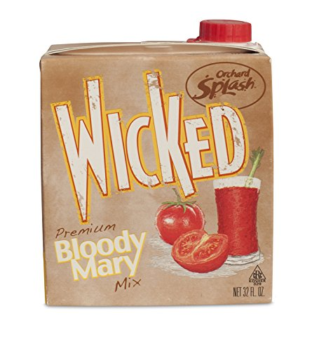 Orchard Splash 32oz Wicked Bloody Mary Mix (Case of 12)
