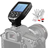 Godox Xpro-N TTL Wireless Flash Trigger Transmitter for Nikon, 1/8000s HSS, TTL-Convert-Manual Function, Large Screen, 5 Dedicated Group Buttons, 11 Customizable Functions with PERGEAR Cleaning Kit