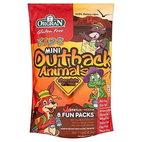 Orgran Gluten Free Mini Chocolate Cookies Multi Pack 175g - Pack of ()