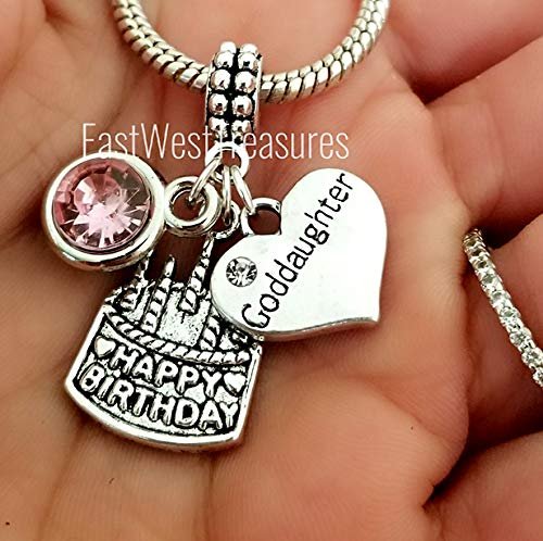 Image Unavailable Not Available For Color Goddaughter Birthday Jewelry Gift