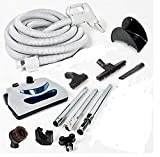Household Supplies & Cleaning NEW Direct Connect Central Vacuum 35 Ft Hose Kit Power Head For NUTONE BEAM VACUFLO FROM USA