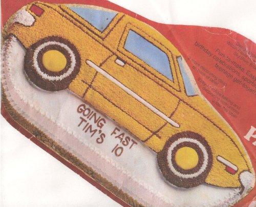 Wilton Cake Pan: Sports Car/Speed Boat/Convertible ()