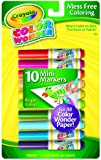 Crayola 10 Count Color Wonder Mini Markers Bright