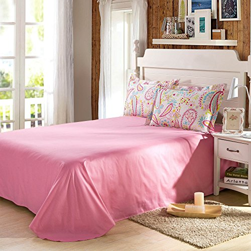 Cliab Paisley Bedding Pink Full For Teen Girls Duvet Cover