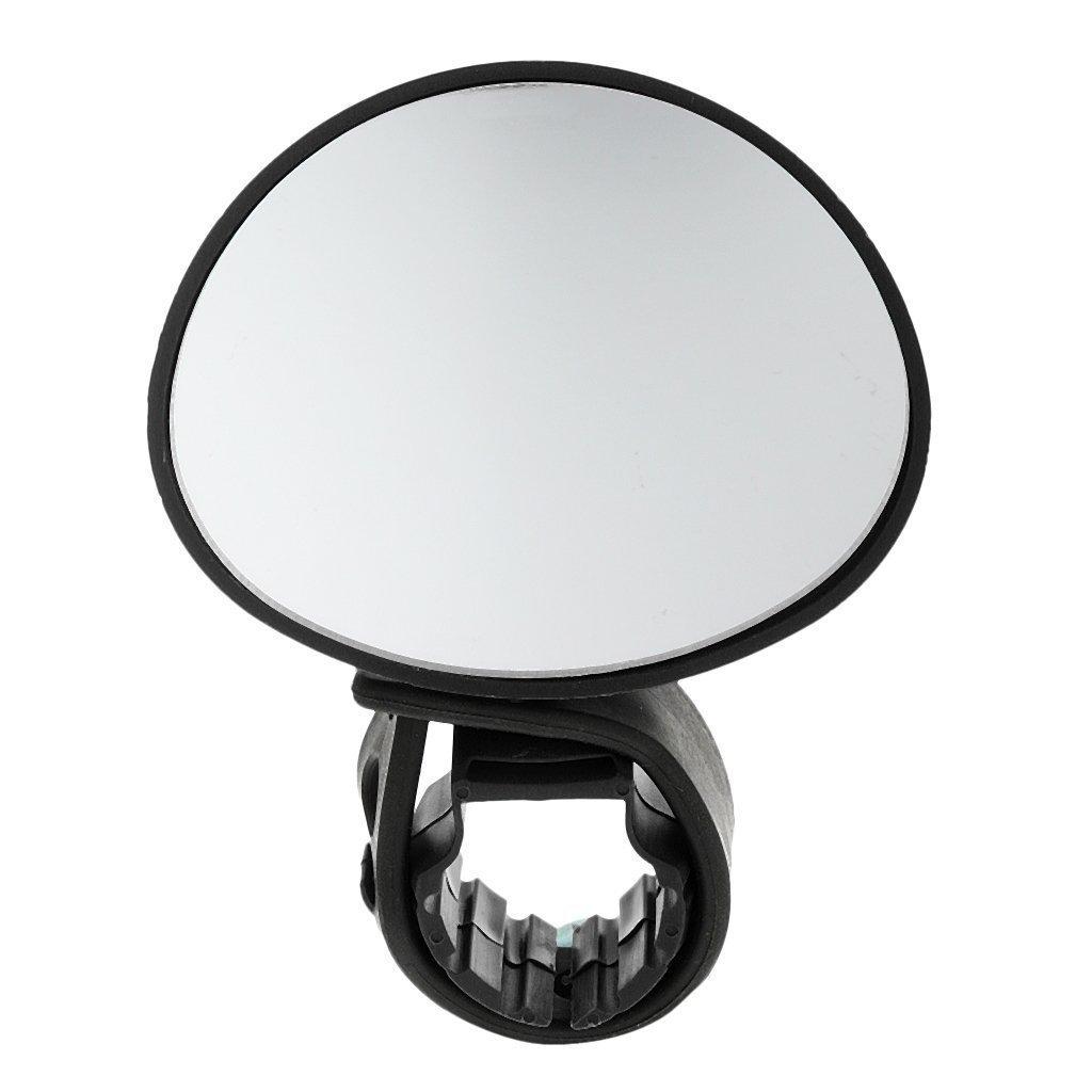 bargain house Universal Mini Rotaty Rearview Handlebar Glass Mirror for Mountain Road Bike Cycling Bicycle