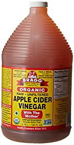 Amazon.com : Bragg Apple Cider Vinegar, 1 gal/128 oz