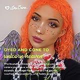 Lime Crime Unicorn Hair Dye, Neon Peach - Vibrant