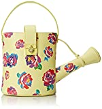 Betsey Johnson Watering Can Top Handle Bag, Yellow, One Size
