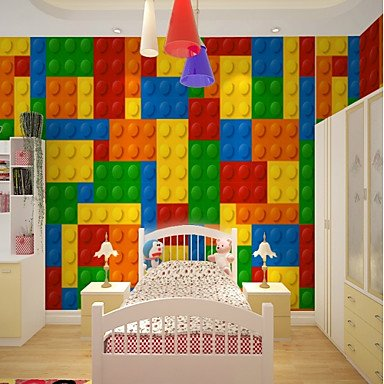 Yebao Art Deco 3d Rainbow Wallpaper For Home Modern Cute