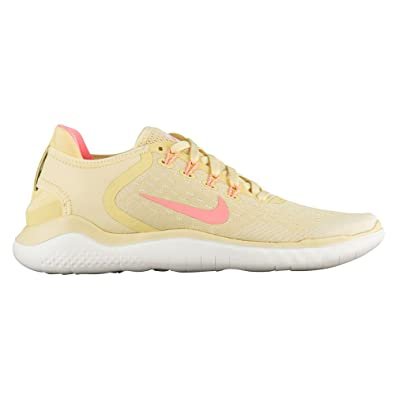 Nike Free RN 2018 Summer Womens AO1911-700 Lemon Wash Running Shoes Size 5