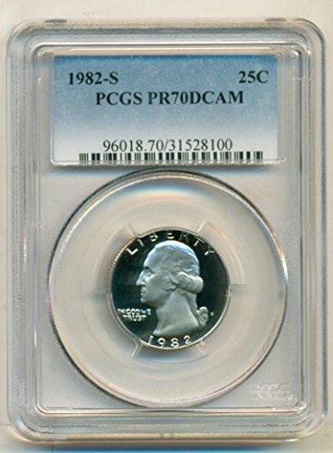 1982 S Washington Proof Quarter PR70 DCAM PCGS