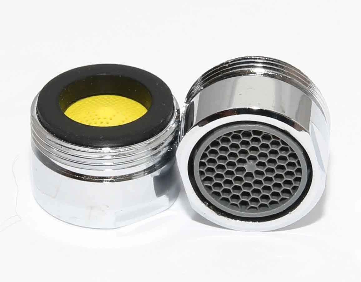 cromado Aireador de tapones de 20 mm macho ahorro de energ/ía agua Paquete de tama/ños reduce las facturas 4 litros por minuto