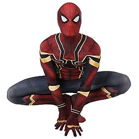 - 51yQPycnShL - ReliCos Adult Unisex Zentai Bodysuit Halloween Cosplay Costume