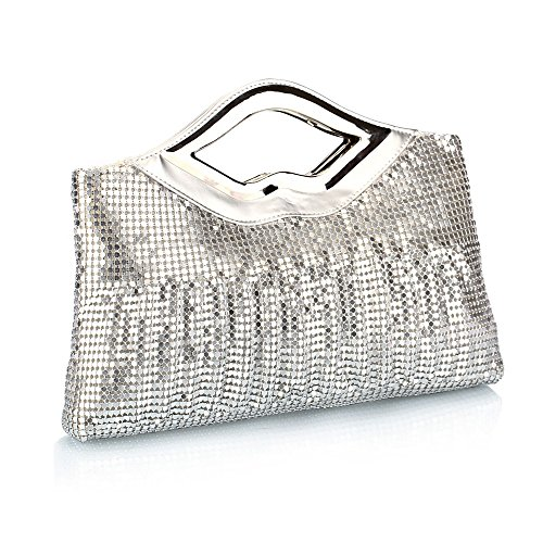 Women Handbag Women Bag Kingh Vintage Sequins Party Evening Bag Desigual Women Handbags Shoulder Bags 186 Silver