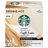Starbucks Vanilla Caffe Latte K-cups – 9 count
