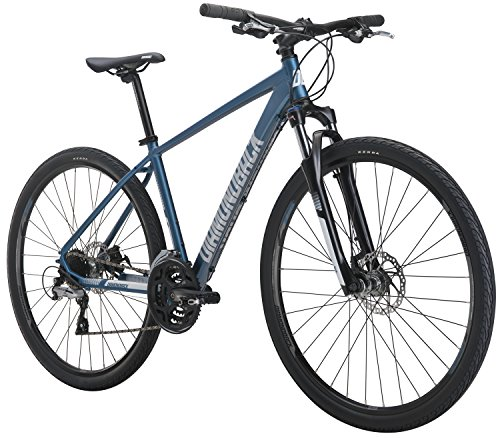 Diamondback Bicycles Trace Sport Dual Sport Bike, Gray
