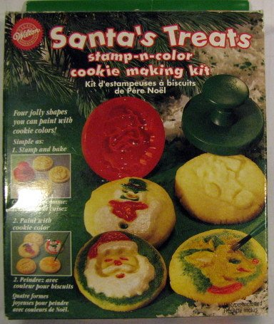 Santas Treats Stamp N Color Cookie Making Kit