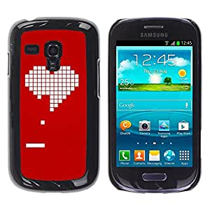 Estuche Cubierta Shell Smartphone estuche protector duro para el teléfono móvil Caso Samsung Galaxy S3 MINI NOT REGULAR! I8190 I8190N / CECELL Phone case / / Pc Game Gamer Girlfriend L