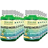 Morpheme Safed Musli 500mg Extract 60 Veg Caps (Pack Of 10)