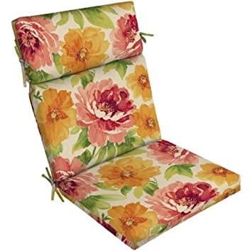 Mainstays Outdoor Patio Bench Cushion Features UV Protection To Resist  Fading (Muree Primrose)