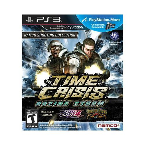 New Namco Time Crisis: Razing Storm First Person Shooter Standard Playstation 3 High Quality