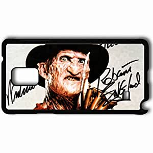 Personalized Samsung Note 4 Cell phone Case/Cover Skin A Nightmare on Elm Street 9392 Black