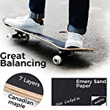 WhiteFang Skateboards for Beginners, Complete