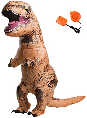 T-Rex Costume Inflatable Dinosaur Suit Halloween Adult Inflatable Costume